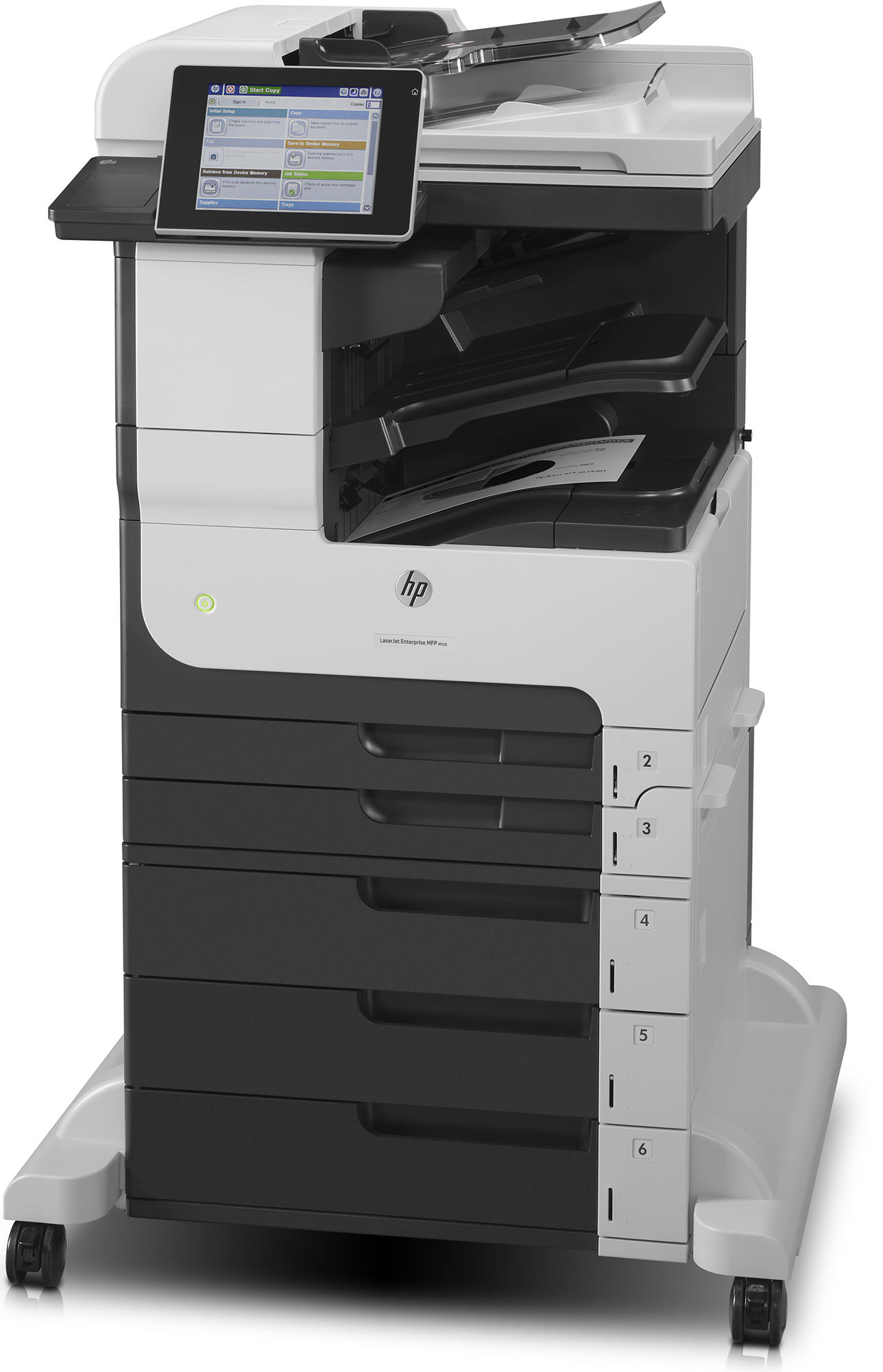 HP Laser Jet Enterprise MFP M725z