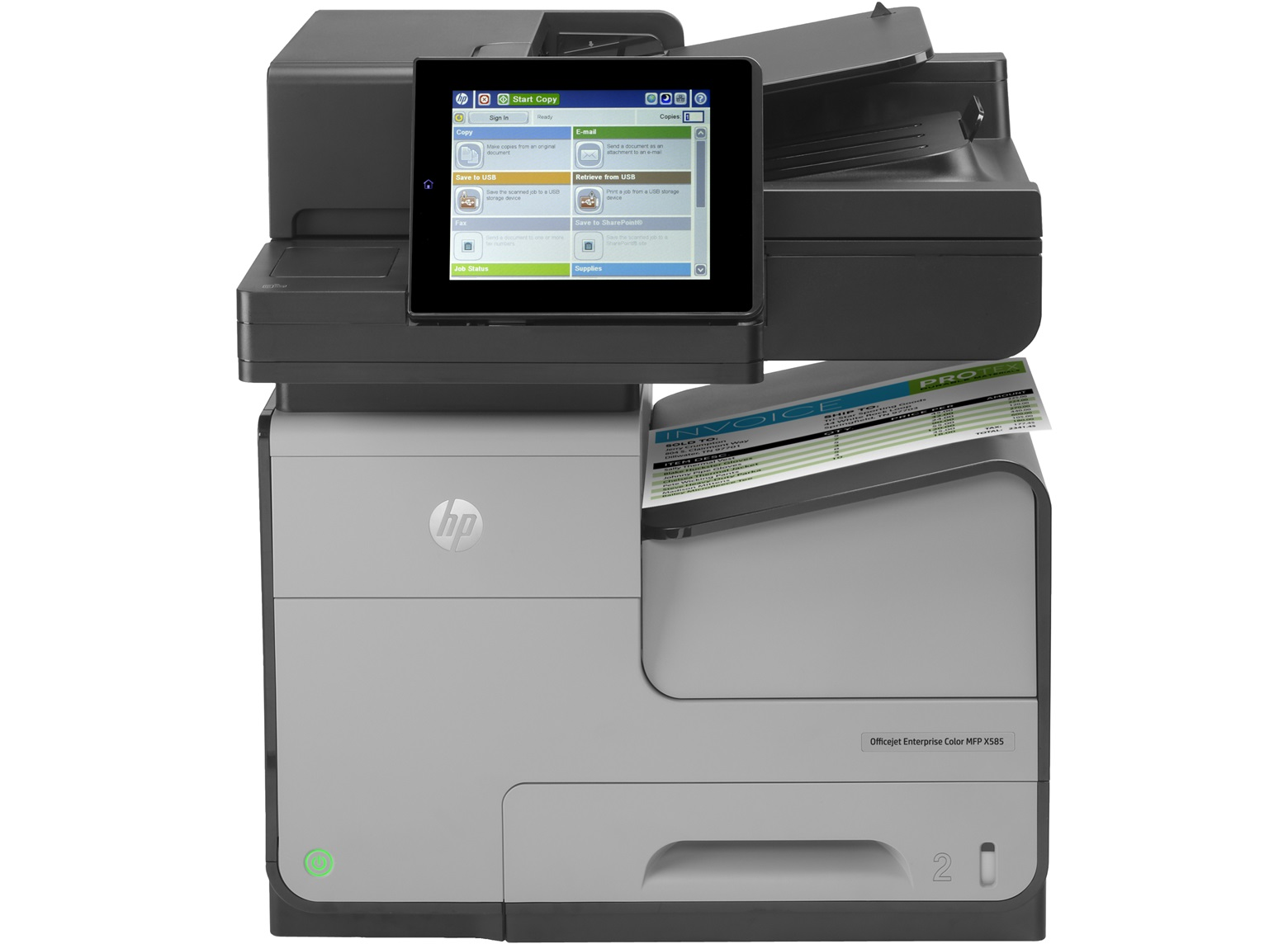 Officejet Enterprise Color X585f